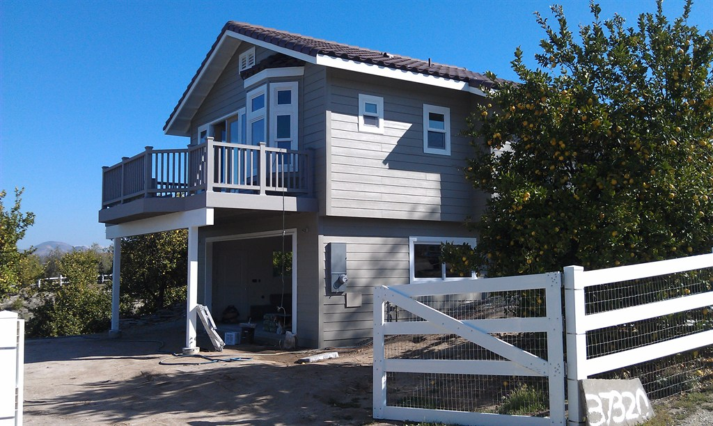 Addition and deck