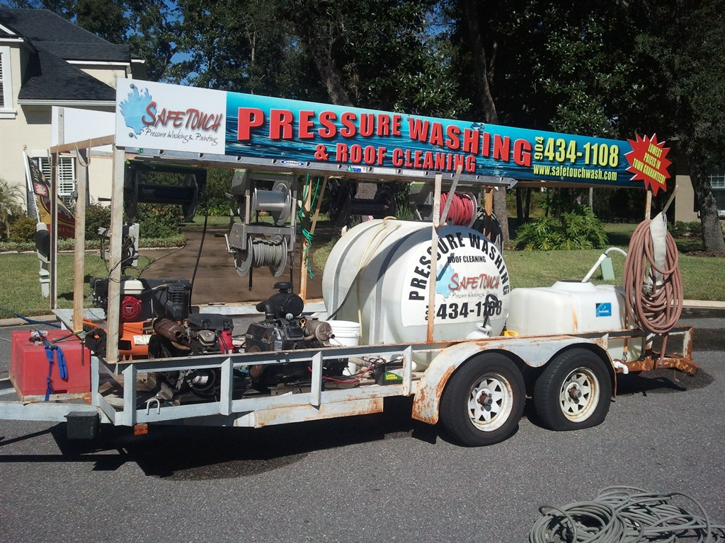 Safe Touch Pressure Washing Amp Roof Cleaning Ponte Vedra