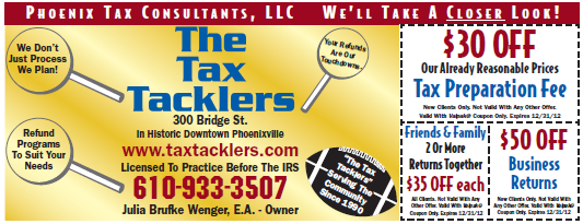 Tax Services Coupon
