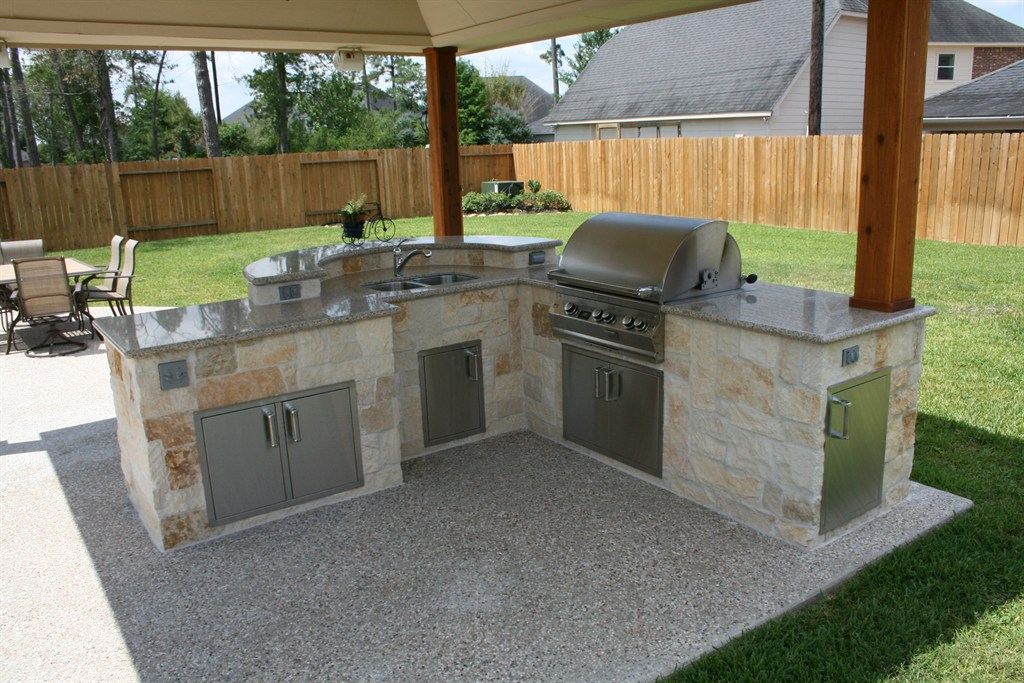 CUSTOM OUTDOORS | Houston, TX 77041 | Angies List on Outdoor Sink With Stand id=15676