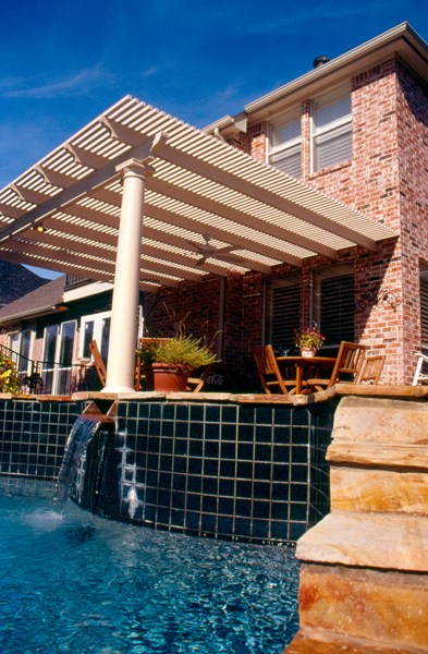 B r installations patio shade covers keller tx 76244 for Bathroom remodel 76244