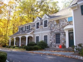 A Home With LeafGuard Gutters