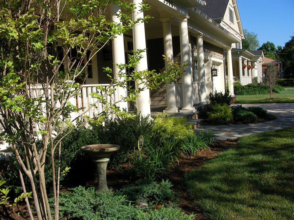 Landscaping of a front yard