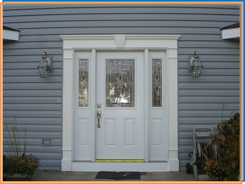 771 #1074BB Entry Door With Sidelites image Exterior Doors With Sidelites 40931024