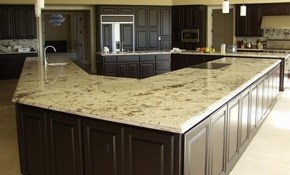 $2,075 for Custom Granite Countertops--Labor...
