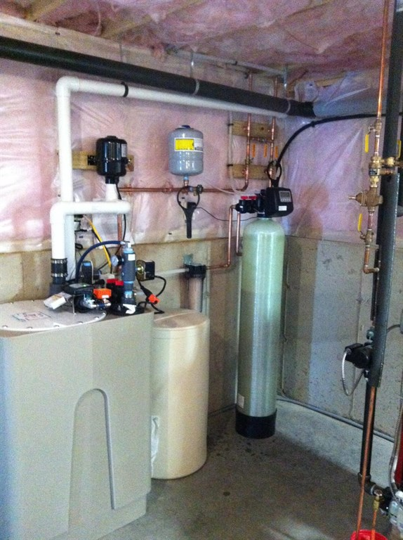 Water Softener System Piping