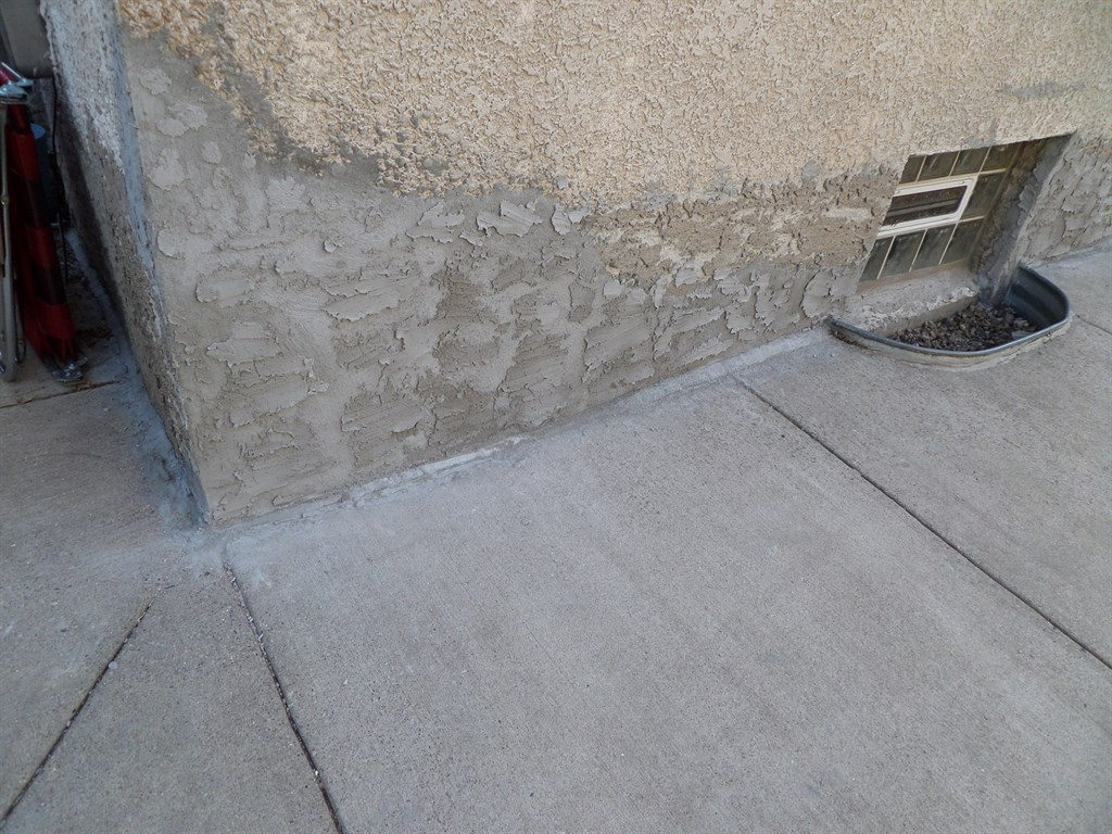 Cracked Foundation After