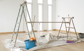 $599 for 3 Rooms of Ceiling Painting -- Including...