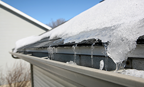 $100 for 4 Gutter Leveling Brackets Installed
