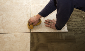 $499 for a New Ceramic Tile Floor, Including...