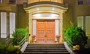 $300 For A Custom Exterior Front Door Refinishing...