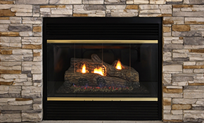 $169 for a Gas Log Fireplace Tune-Up, Cleaning,...