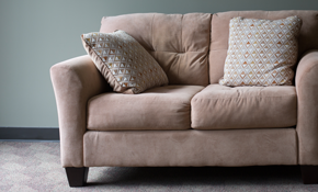 $625 for Re-Upholstery of Standard Love Seat...