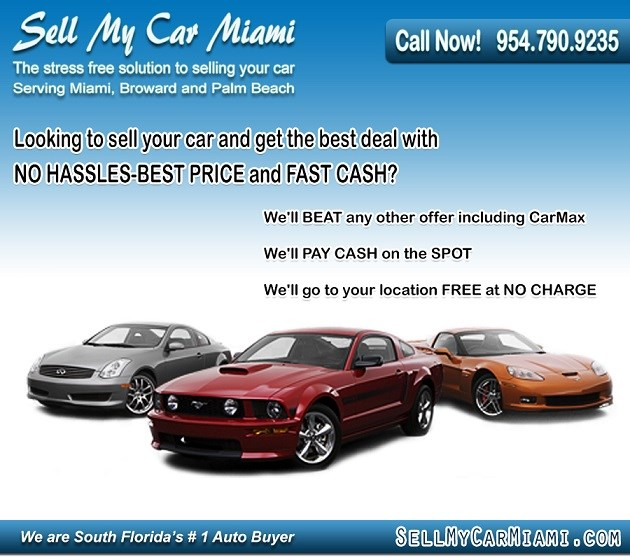 sell my car miami
