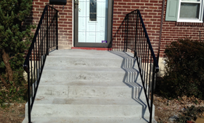 $1,550 for the Installation of Two Iron Railings