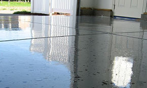 $549 Garage Floor Epoxy Finishing