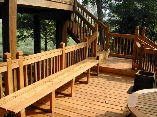 Deck Lower Benches