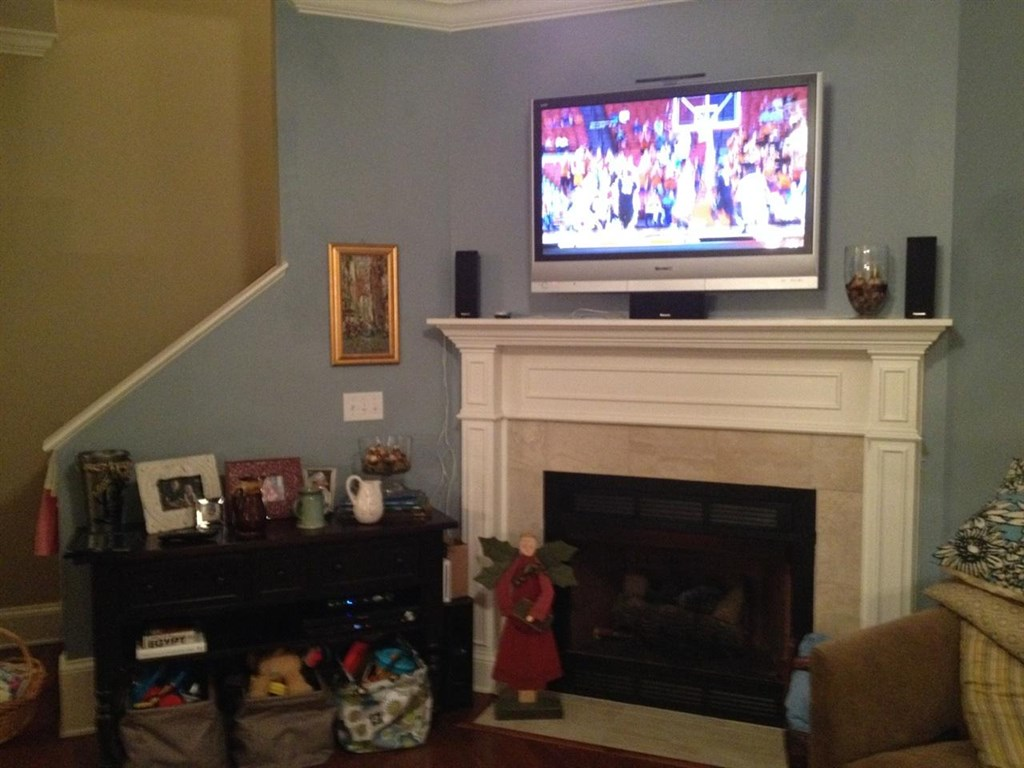 Installing Electrical Outlet Above Fireplace At Askives Ask Home Design
