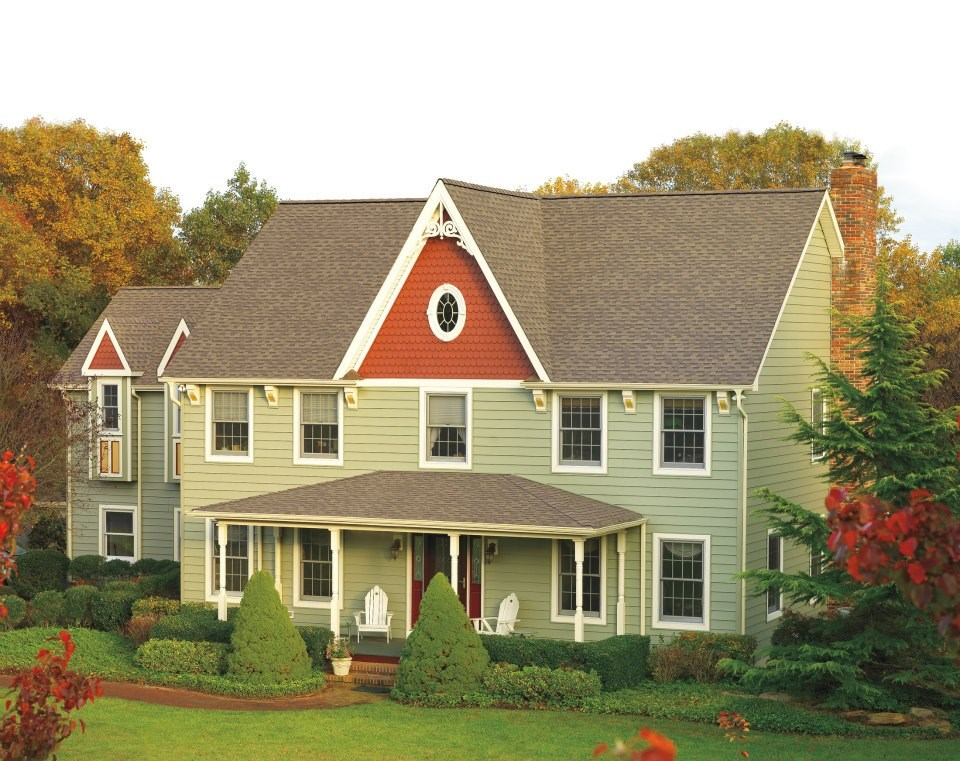 GAF Timberline Cool Series Shingles in Barkwood Colo