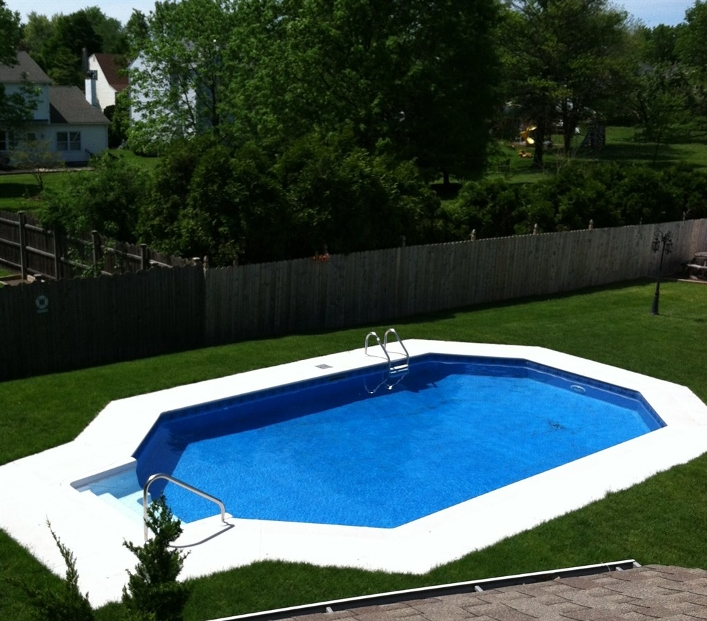 Perfect pools levittown pa 19056 angies list for Grecian pool shape