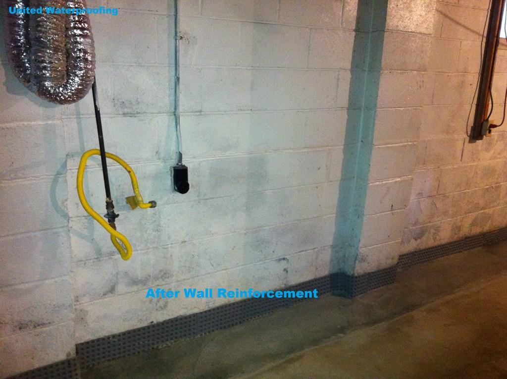 Wall After Reinforcement