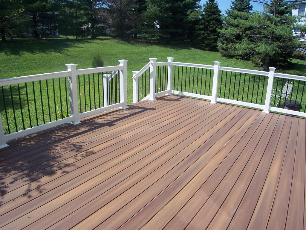American deck inc parkton md 21120 angie 39 s list - Vinyl railing reviews ...