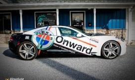 Fisker Karma Car Wrap