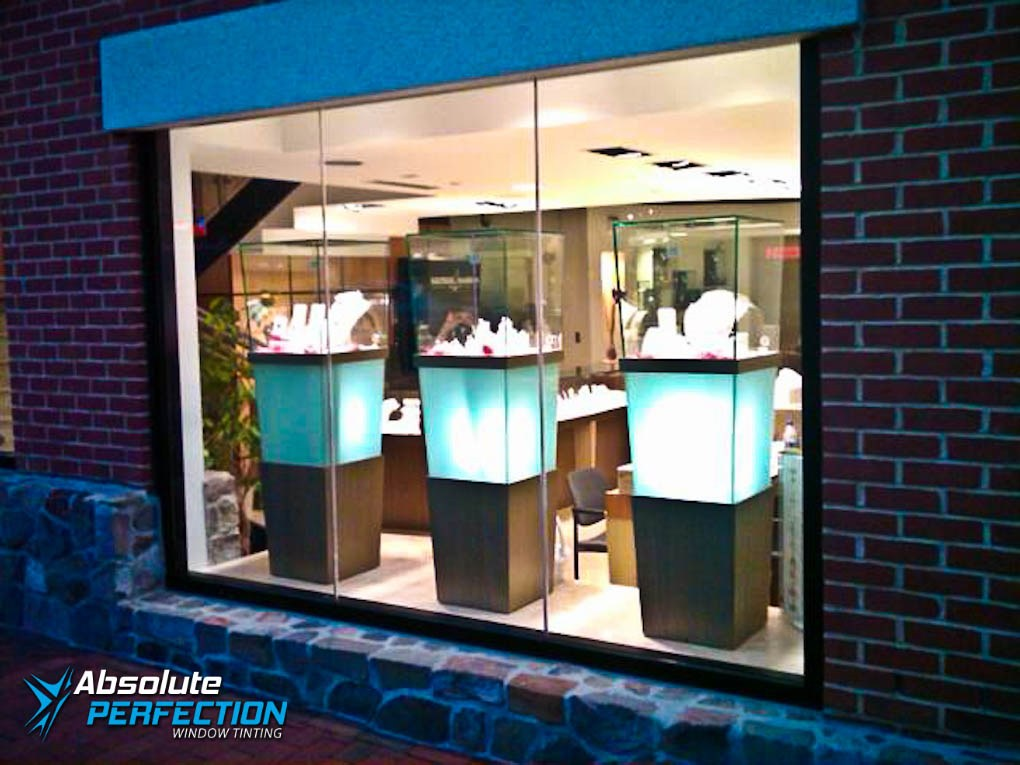 Protect Store Front Merchandise from UV Rays