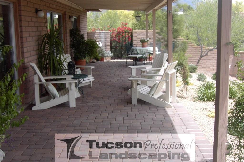 Landscaping Pavers Tucson : Tucson professional landscaping az angies list