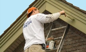 $335 for Exterior Trim (Fascia) Painting...
