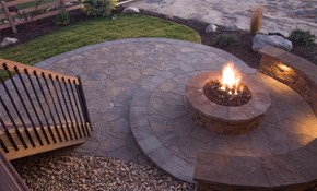 $55 for Decorative or Stamped Concrete Design...