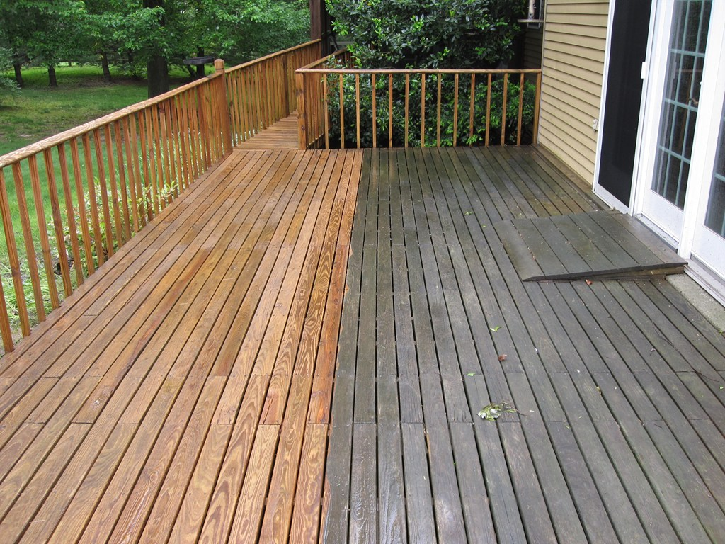 Squeeky clean services inc glenside pa 19038 angies list for Staining trex decking