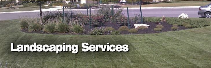 We specialize in complete lawn restoration, sodding, seasonal planting, tree and shrub installation and pruning, leaf removal, and custom designs.