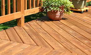 $249 Deck Pressure Washing and Sealing