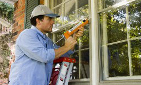 Two Story Residential Window Cleaning  (Up...