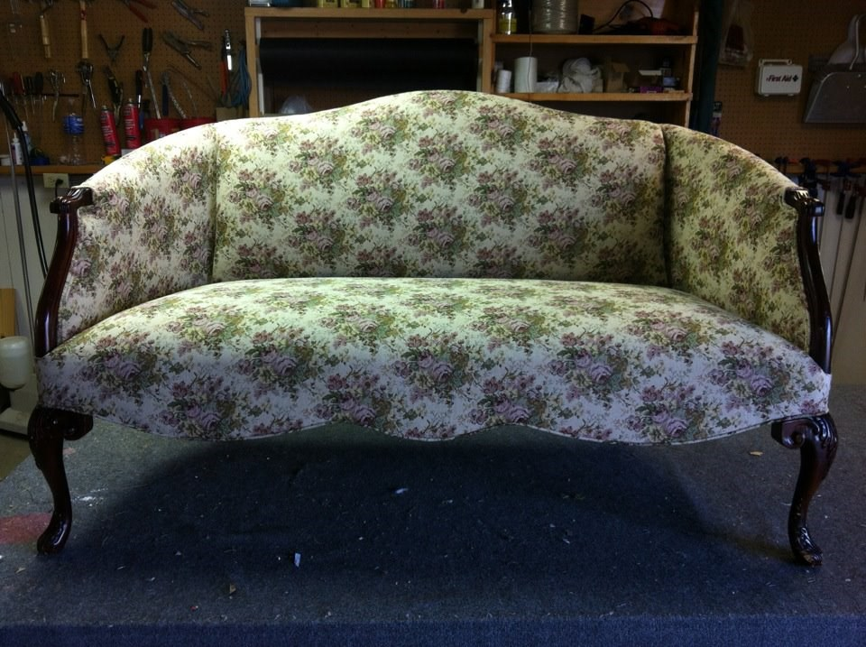 Yellow Settee After