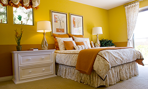 $1,350 for 3 Rooms of Interior Painting