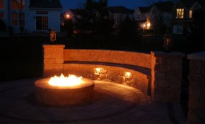 Patio Natural Gas Fire-Pit (Labor, Materials...