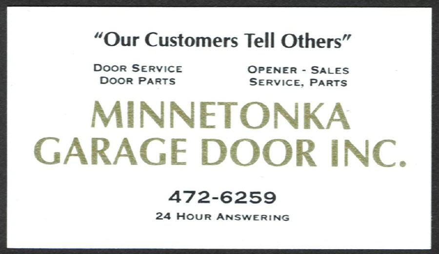 Minnetonka garage door inc mound mn 55364 angies list for Golden rule garage door