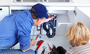 $49 for an HVAC or Plumbing Service Call