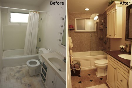 Vivid contracting llc albuquerque nm 87114 angies list for Bathroom remodeling ideas before and after