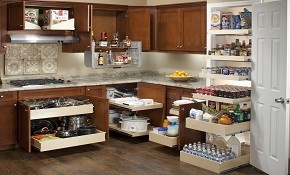 $199 for $500 of Custom Glide-Out Shelving...