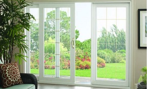 $1,599 for a Premium Sliding Patio Door Completely...