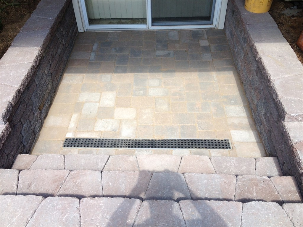 After Exterior Drainage