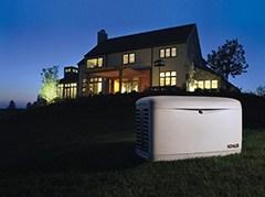 Kohler Generators Keep the Lights On!