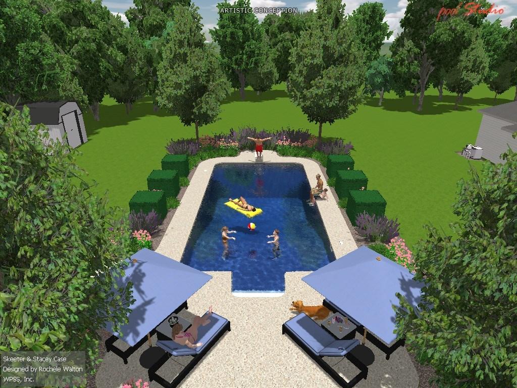 Custom Swimming Pool in Charlotte Hall, MD