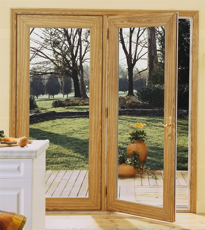 Premier window systems inc merrillville in 46410 for Center hinged patio doors
