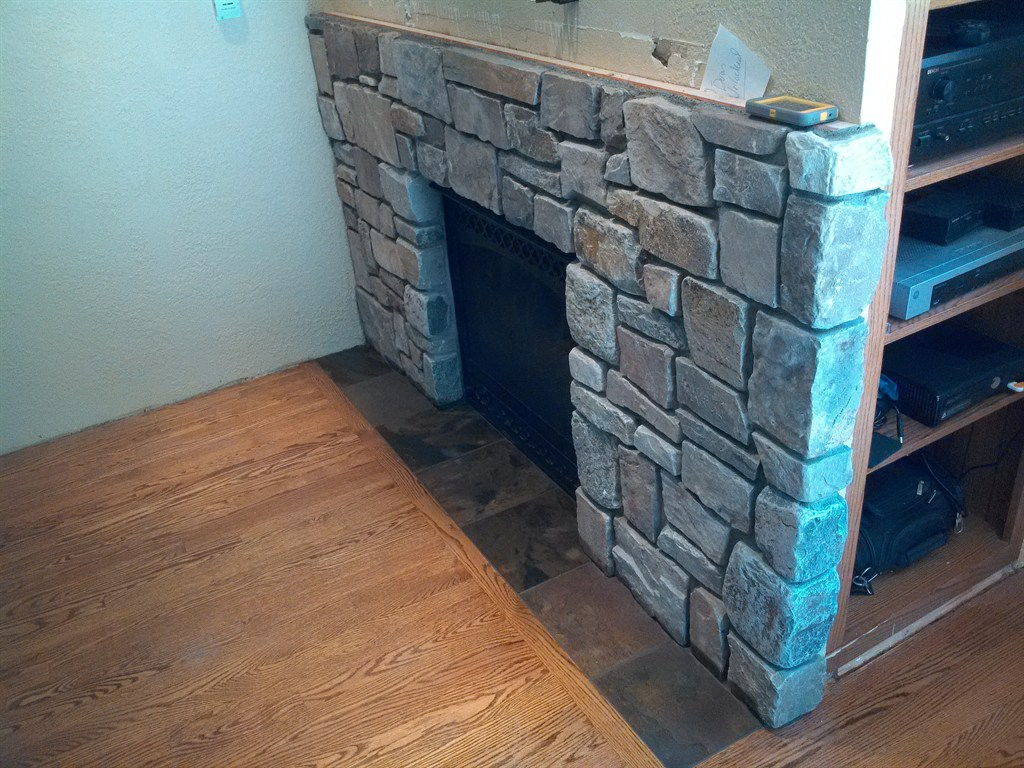 installed stone