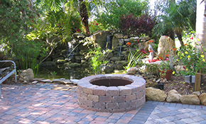 $2,195 for 100 sq ft of Interlocking Pavers...