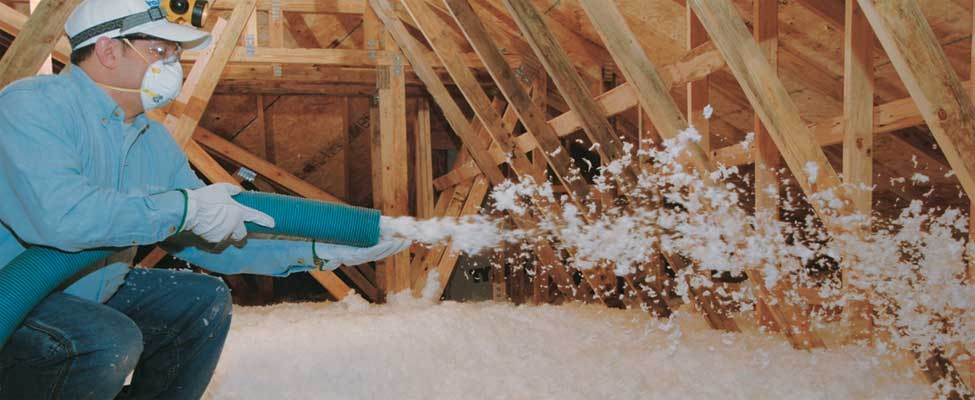 Blown In and Exterior Insulation Saves You Money on Heating and Cooling Costs